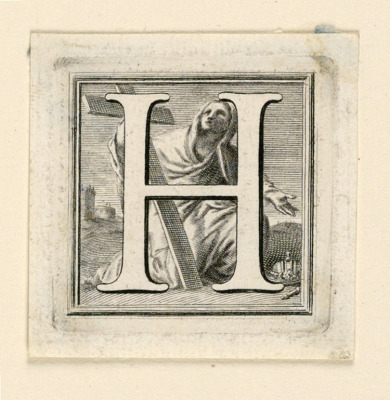 Decorated Capital Letter H