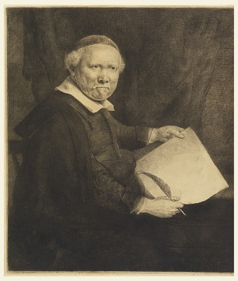 Lieven Willemsz van Coppenol, Writing-Master (The