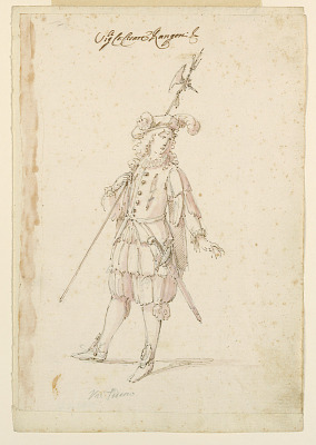 Costume Design: A German for a Ballet