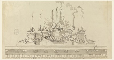Design for Decoration of a Ceremony