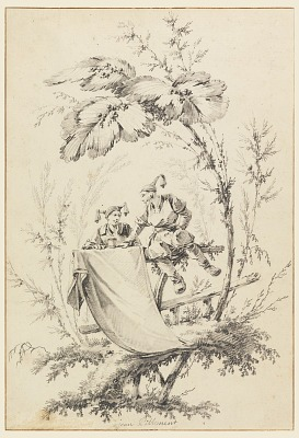 Design for Title Page, Cahier des Parasols Chinois