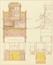 Design for Mechanical Furniture: Desk