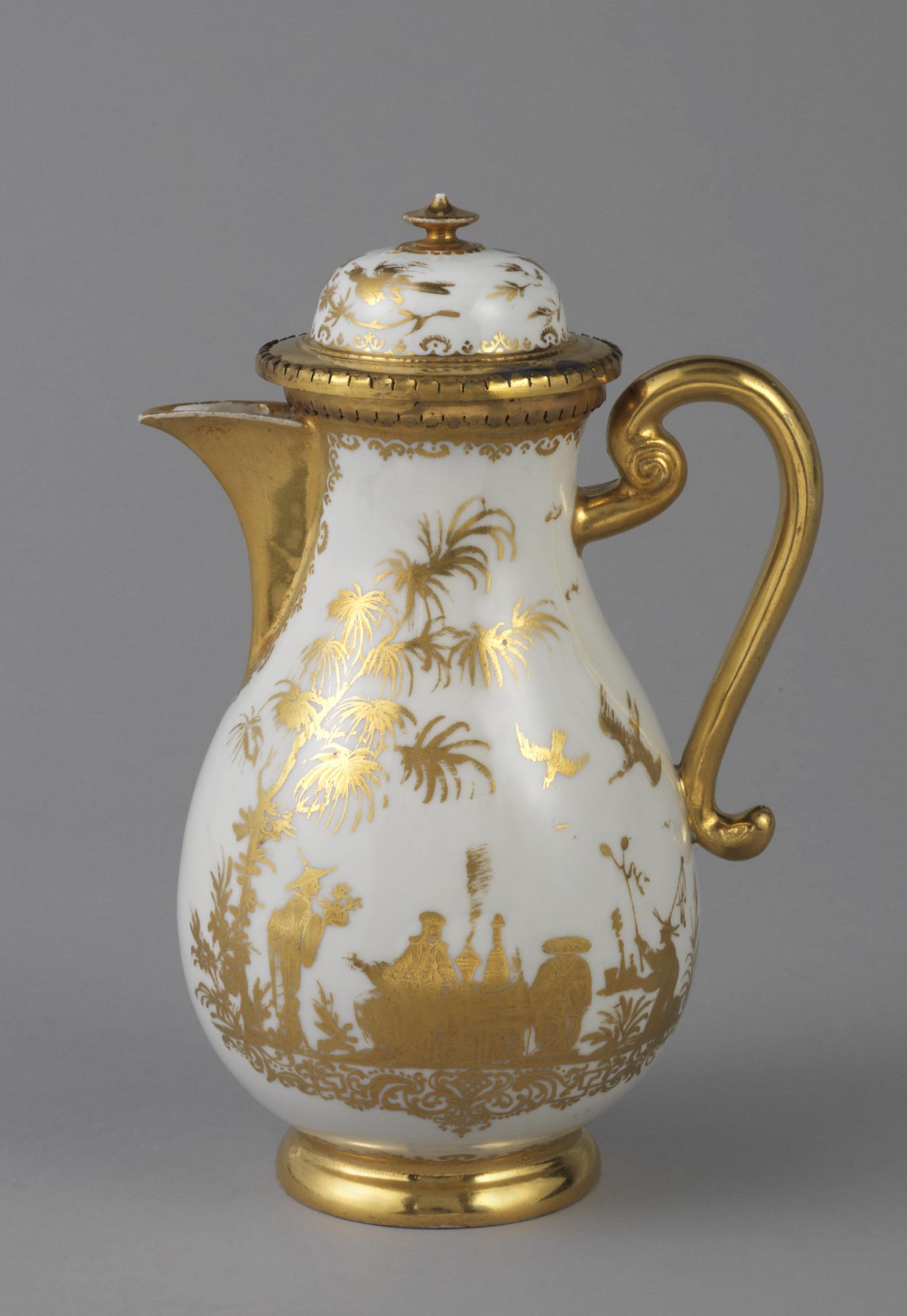 Coffeepot with 'Hausmaler' Decor