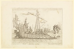 From a Series of Naval Battles for Wedding Festivities of Cosimo Il de'Medici, Ship of Heracles
