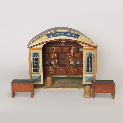 Model of grocery store