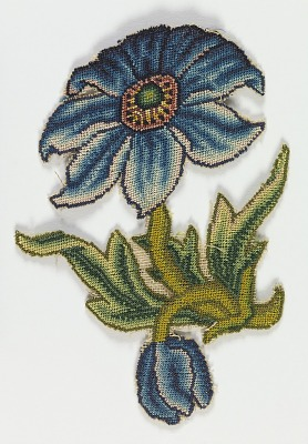 Embroidered slip