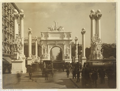 The Dewey Arch, Madison Square, New York