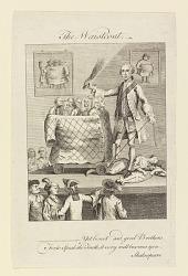 The Waistcoat (Caricature on the Fashion of Waistcoats)
