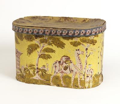 Bandbox and lid