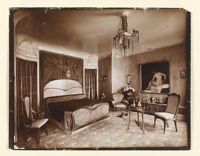 Mme Guimard's Bedroom, Hôtel Guimard, 122 rue Mozart, Paris XVI