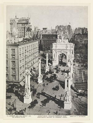 The Dewey Arch, Fifth Avenue and 23rd Street