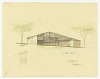 thumbnail for Image 1 - South Elevation of a Split-Level House to be Erected in Palo Alto, California