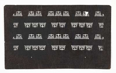 Stylized Iris Pattern
