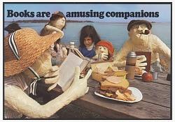 Books Are Amusing Companions