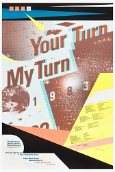 Your Turn, My Turn, International Contract Furniture Design Symposium, Pacific Design Center, Los Angeles, CA