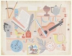 """Handwerk,"" Wallpaper Design"