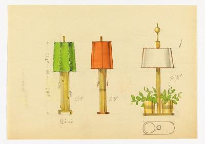 Three Table Lamp Designs