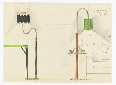 Designs for Two Standing Lamps: