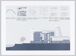 Bibliothèque de France, Paris: Diagrams and Section