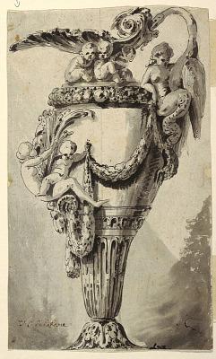 Design for a Decorative Ewer