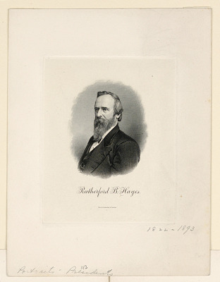 Portrait of Rutherford B. Hayes