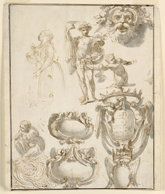 Sheet with Sketches