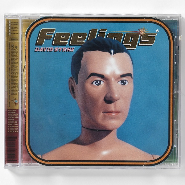 "Image 1 for Compact Disk Cover for David Byrne's ""Feelings"""