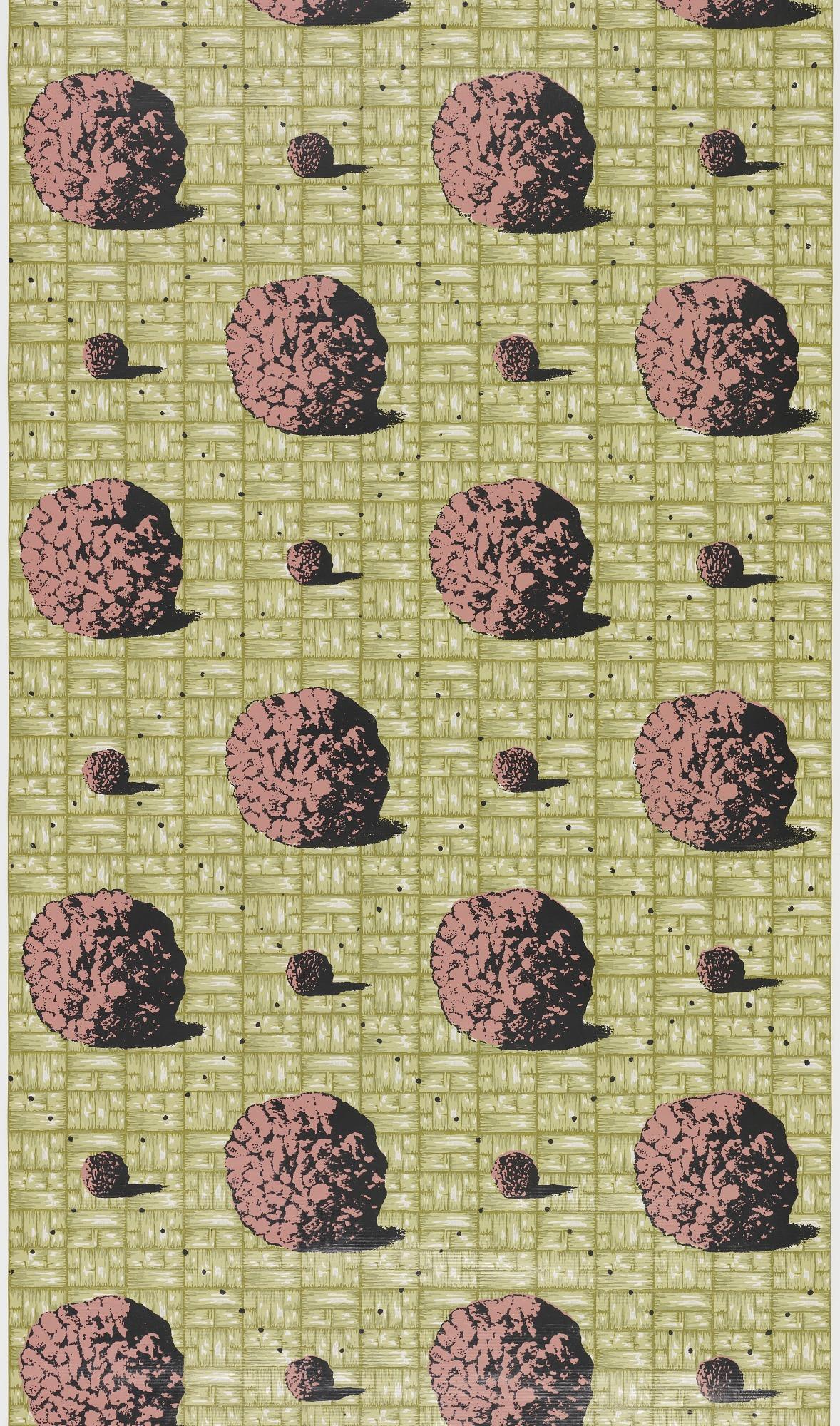 Meatballs on Green Weave