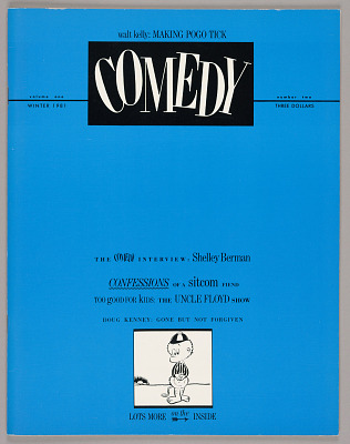 Comedy Magazine, Volume One, No. Two