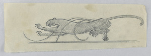 images for Design for a Weathervane, Leopard-thumbnail 2