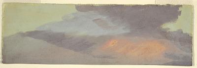 Sunset cloud study