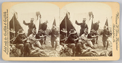 Scenes during the Spanish American War