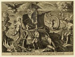 """Ferdinandes Magalanes Lusitanus, plate 4 from """"Americae Retectio"""""""