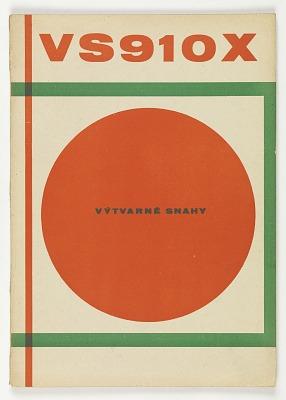 Výtvarné snahy (Art endeavors), 1928-1929
