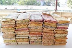 100 Jamdani Saris