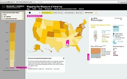 Mapping the Measure of America