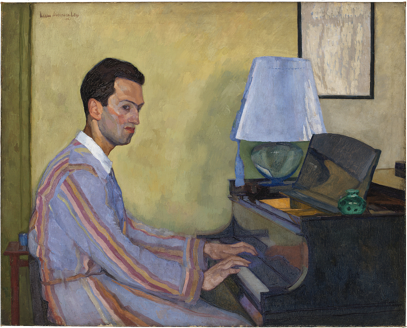 Image for George Gershwin at Piano