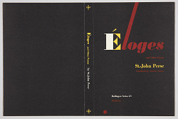 Éloges and Other Poems