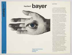 Herbert Bayer: Visual Communication, Architecture, Planning