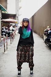 Amboi, Mizz Nina, Kuala Lumpur singer, songwriter, and fashion designer, from Modest Street Fashion vol. 1