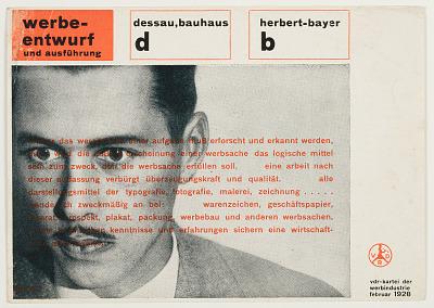 Herbert Bayer, Verband Deutscher Reklamefachleute (Association of German Advertising Professionals)