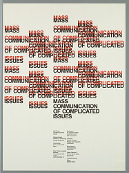 Mass Communication of Complicated Issues