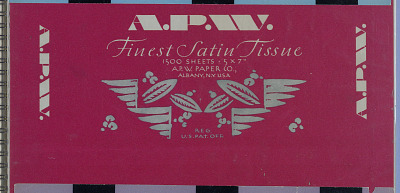 Album: A. P. W. Finest Satin Tissue 1500