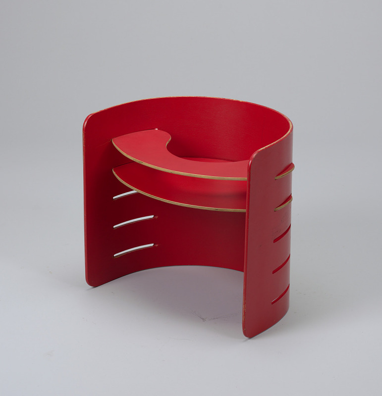 Image 1 for Pair of Child's chairs with table insert