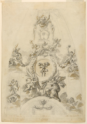 Design for Painted Cupola