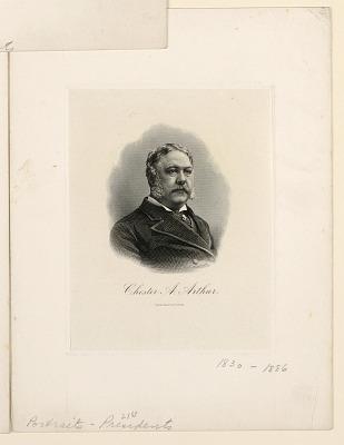 Portrait of Chester A. Arthur
