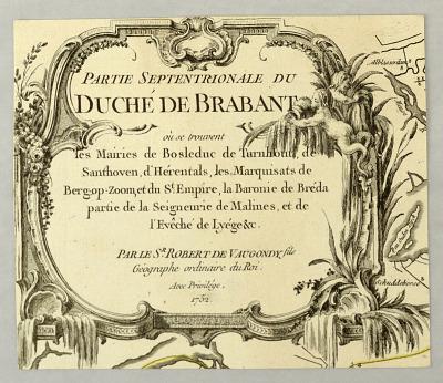 Partie Septentrionale du Duche de Brabant