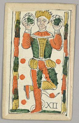 Minchiate (Tarot) Playing Card
