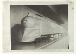 Plasticine Wind Tunnel Model for a Streamlined K4s Class Locomotive, Pennsylvania Railroad