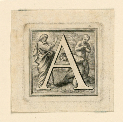 Decorated Capital Letter A